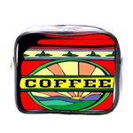 Coffee Tin A Classic Illustration Mini Toiletries Bags
