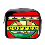 Coffee Tin A Classic Illustration Mini Toiletries Bag 2-Side