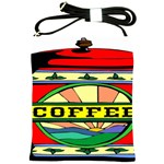 Coffee Tin A Classic Illustration Shoulder Sling Bags