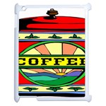 Coffee Tin A Classic Illustration Apple iPad 2 Case (White)