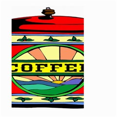 Coffee Tin A Classic Illustration Large Garden Flag (two Sides) by Nexatart