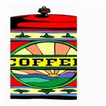 Coffee Tin A Classic Illustration Large Garden Flag (Two Sides)