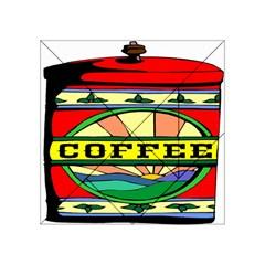 Coffee Tin A Classic Illustration Acrylic Tangram Puzzle (4  X 4 )