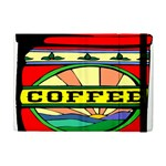Coffee Tin A Classic Illustration Apple iPad Mini Flip Case