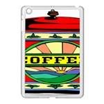 Coffee Tin A Classic Illustration Apple iPad Mini Case (White)