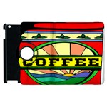 Coffee Tin A Classic Illustration Apple iPad 2 Flip 360 Case
