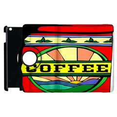Coffee Tin A Classic Illustration Apple Ipad 3/4 Flip 360 Case by Nexatart