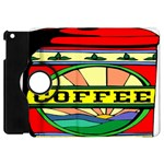 Coffee Tin A Classic Illustration Apple iPad Mini Flip 360 Case