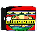 Coffee Tin A Classic Illustration Kindle Fire HD 7