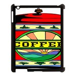 Coffee Tin A Classic Illustration Apple iPad 3/4 Case (Black)