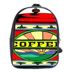 Coffee Tin A Classic Illustration School Bags (XL)