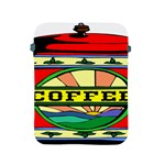 Coffee Tin A Classic Illustration Apple iPad 2/3/4 Protective Soft Cases