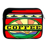 Coffee Tin A Classic Illustration Apple iPad 2/3/4 Zipper Cases