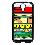 Coffee Tin A Classic Illustration Samsung Galaxy S4 I9500/ I9505 Case (Black)
