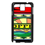 Coffee Tin A Classic Illustration Samsung Galaxy Note 3 N9005 Case (Black)