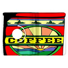 Coffee Tin A Classic Illustration Kindle Fire Hdx Flip 360 Case by Nexatart