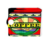 Coffee Tin A Classic Illustration Kindle Fire HDX 8.9  Flip 360 Case