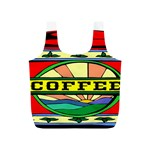 Coffee Tin A Classic Illustration Full Print Recycle Bags (S)