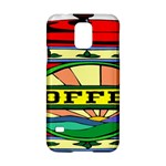 Coffee Tin A Classic Illustration Samsung Galaxy S5 Hardshell Case