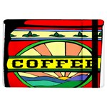 Coffee Tin A Classic Illustration iPad Air Flip