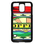 Coffee Tin A Classic Illustration Samsung Galaxy S5 Case (Black)
