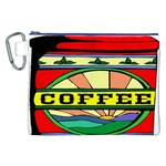 Coffee Tin A Classic Illustration Canvas Cosmetic Bag (XXL)