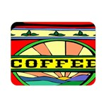Coffee Tin A Classic Illustration Double Sided Flano Blanket (Mini)