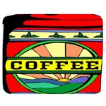 Coffee Tin A Classic Illustration Double Sided Flano Blanket (Medium)