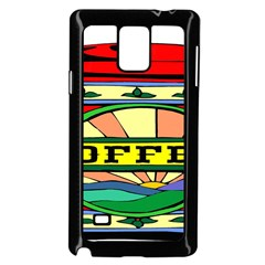 Coffee Tin A Classic Illustration Samsung Galaxy Note 4 Case (black)