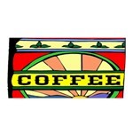 Coffee Tin A Classic Illustration Satin Wrap