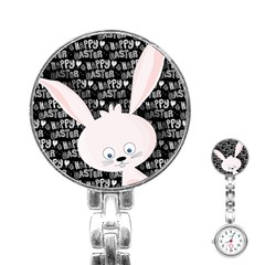 Easter bunny  Stainless Steel Nurses Watch