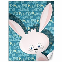 Easter Bunny  Canvas 36  X 48   by Valentinaart
