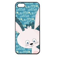 Easter Bunny  Apple Iphone 5 Seamless Case (black) by Valentinaart