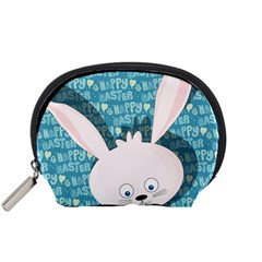 Easter Bunny  Accessory Pouches (small)  by Valentinaart