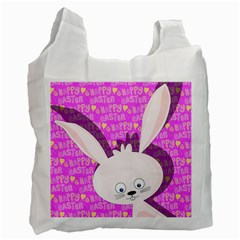 Easter Bunny  Recycle Bag (two Side)  by Valentinaart