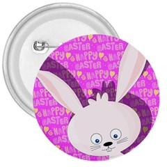 Easter Bunny  3  Buttons by Valentinaart