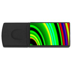 Multi Colorful Radiant Background Usb Flash Drive Rectangular (4 Gb) by Nexatart