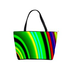 Multi Colorful Radiant Background Shoulder Handbags