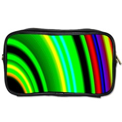 Multi Colorful Radiant Background Toiletries Bags 2 Side by Nexatart