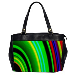 Multi Colorful Radiant Background Office Handbags by Nexatart