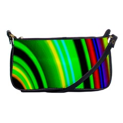 Multi Colorful Radiant Background Shoulder Clutch Bags by Nexatart