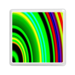 Multi Colorful Radiant Background Memory Card Reader (square)  by Nexatart