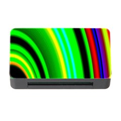Multi Colorful Radiant Background Memory Card Reader With Cf
