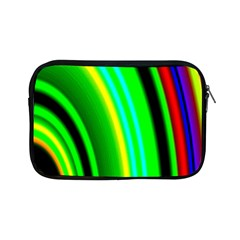 Multi Colorful Radiant Background Apple Ipad Mini Zipper Cases by Nexatart