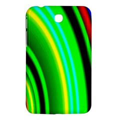 Multi Colorful Radiant Background Samsung Galaxy Tab 3 (7 ) P3200 Hardshell Case  by Nexatart
