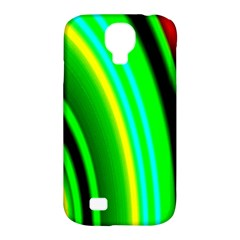 Multi Colorful Radiant Background Samsung Galaxy S4 Classic Hardshell Case (pc+silicone)