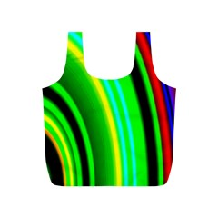 Multi Colorful Radiant Background Full Print Recycle Bags (s)  by Nexatart