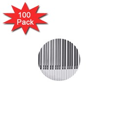 Abstract Piano Keys Background 1  Mini Buttons (100 Pack)  by Nexatart