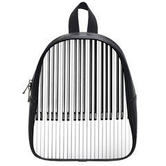 Abstract Piano Keys Background School Bags (small)  by Nexatart