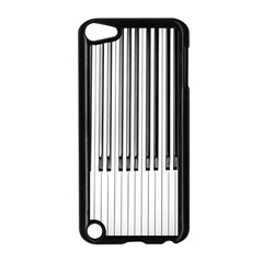 Abstract Piano Keys Background Apple Ipod Touch 5 Case (black) by Nexatart